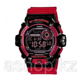 Часы электронные наручные мужские Casio G-SHOCK G-8900SC-1RDR, Механизм: Кварц, Браслет: Ремешок из полимерног