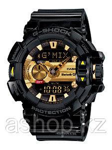 Часы электронные наручные мужские Casio G-SHOCK GBA-400-1A9, Механизм: Кварц, Браслет: Ремешок из полимерного
