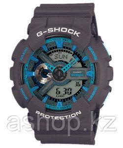 Часы электронные наручные мужские Casio G-SHOCK GA-110TS-8A2DR, Механизм: Кварц, Браслет: Ремешок из полимерно