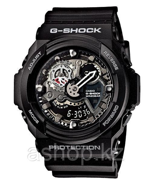 Часы электронные наручные мужские Casio G-SHOCK GA-300-1ADR, Механизм: Кварц, Браслет: Ремешок из полимерного