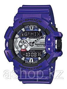 Часы электронные наручные мужские Casio G-SHOCK GBA-400-3B, Механизм: Кварц, Браслет: Ремешок из полимерного м