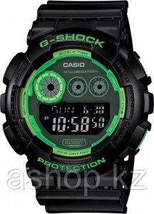 Часы электронные наручные мужские Casio G-SHOCK GD-120N-1B3DR, Механизм: Кварц, Браслет: Ремешок из полимерног