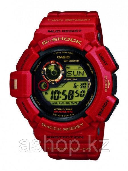 Часы электронные наручные мужские Casio G-SHOCK G-9330A-4DR, Механизм: Кварц, Браслет: Ремешок из полимерного