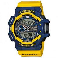 Часы электронные наручные мужские Casio G-SHOCK GA-400-9BER, Механизм: Кварц, Браслет: Ремешок из полимерного