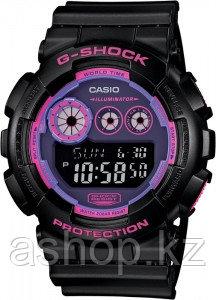 Часы электронные наручные мужские Casio G-SHOCK GD-120N-1B4DR, Механизм: Кварц, Браслет: Ремешок из полимерног