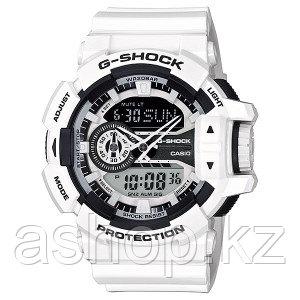 Часы электронные наручные мужские Casio G-SHOCK GA-400-7A, Механизм: Кварц, Браслет: Ремешок из полимерного ма