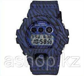 Часы электронные наручные мужские Casio G-SHOCK DW-6900ZB-2DR, Механизм: Кварц, Браслет: Ремешок из полимерног