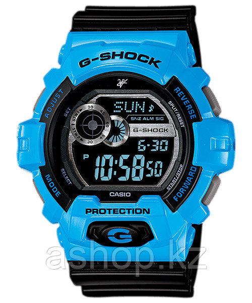 Часы электронные наручные мужские Casio G-SHOCK GLS-8900LV-2DR, Механизм: Кварц, Браслет: Ремешок из пластика,