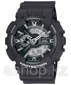 Часы электронные наручные мужские Casio G-SHOCK GA-110C-1ADR, Механизм: Кварц, Браслет: Ремешок из полимерного