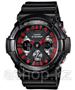Часы электронные наручные мужские Casio G-SHOCK GA-200SH-1AER, Механизм: Кварц, Браслет: Ремешок из полимерног