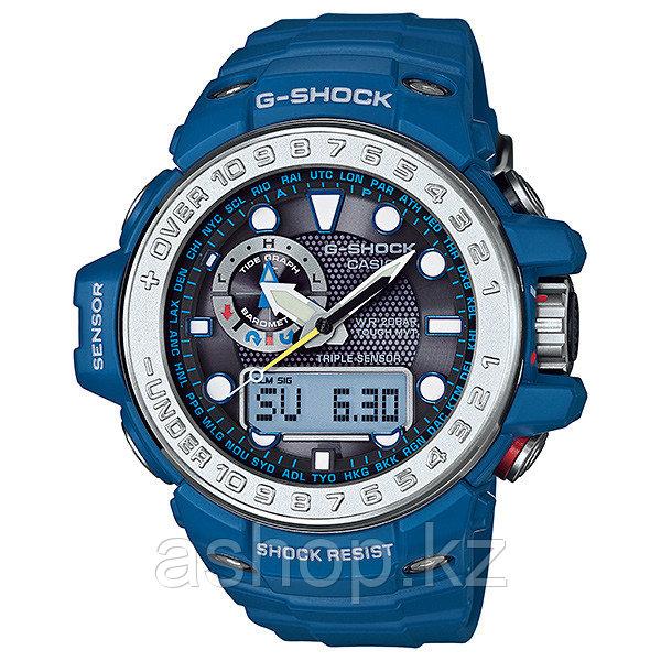 Часы электронные наручные мужские Casio G-SHOCK GWN-1000-2ADR, Механизм: Кварц, Браслет: Каучук, Застежка клас