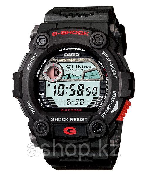Часы электронные наручные мужские Casio G-SHOCK G-7900-1DR, Механизм: Кварц, Браслет: Ремешок из полимерного м