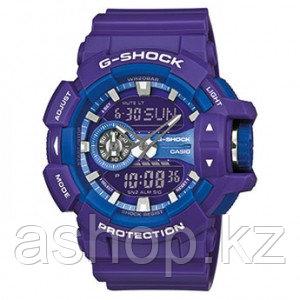 Часы электронные наручные мужские Casio G-SHOCK GA-400A-6AER, Механизм: Кварц, Браслет: Ремешок из полимерного