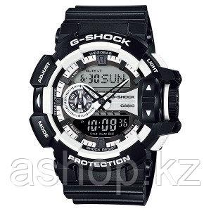 Часы электронные наручные мужские Casio G-SHOCK GA-400-1AER, Механизм: Кварц, Браслет: Ремешок из полимерного