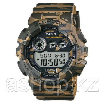 Часы электронные наручные мужские Casio G-SHOCK GD-120CM-5DR , Механизм: Кварц, Браслет: Ремешок из полимерног