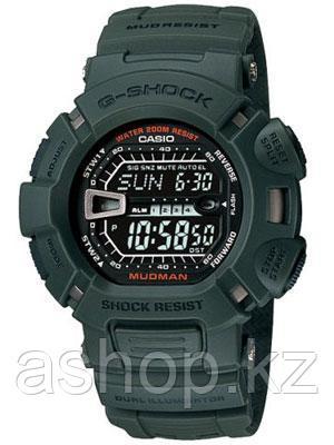 Часы электронные наручные мужские Casio G-SHOCK G-9000-3VDR, Механизм: Кварц, Браслет: Ремешок из полимерного