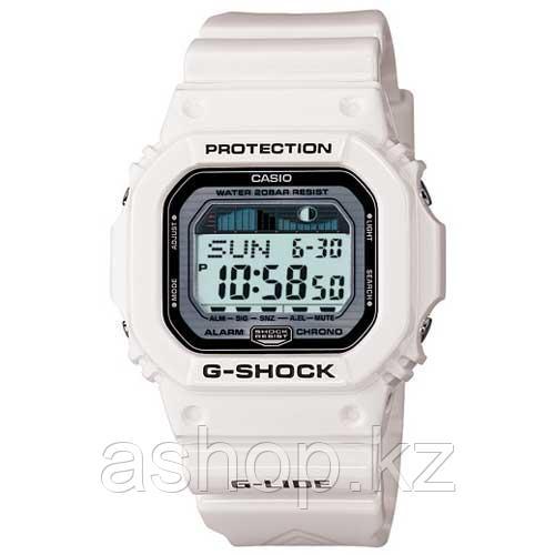 Часы электронные наручные мужские Casio G-SHOCK GLX-5600-7DR, Механизм: Кварц, Браслет: Ремешок из пластика, З