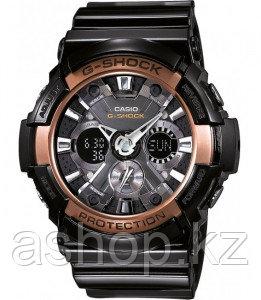 Часы электронные наручные мужские Casio G-SHOCK GA-200RG-1ADR, Механизм: Кварц, Браслет: Ремешок из полимерног