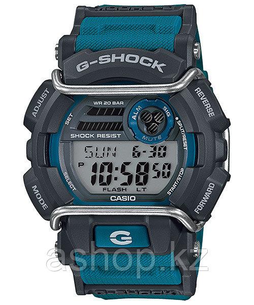 Часы электронные наручные мужские Casio G-SHOCK GD-400-2DR, Механизм: Кварц, Браслет: Ремешок из полимерного м