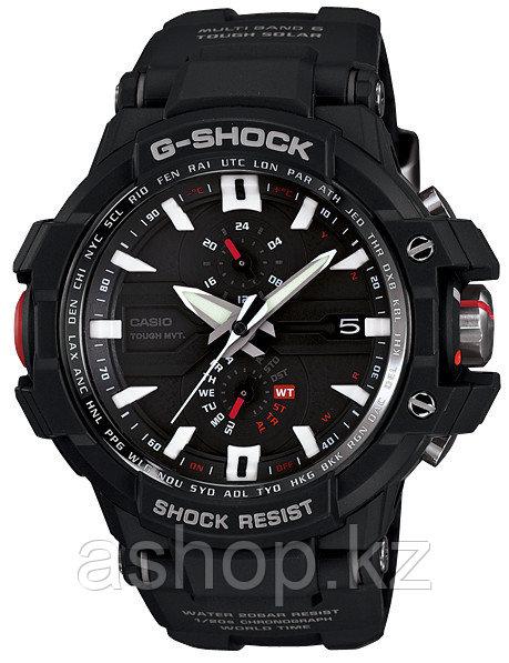 Часы электронные наручные мужские Casio G-SHOCK GW-A1000-1ADR, Механизм: Кварц, Браслет: Ремешок из полимерног
