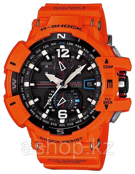 Часы электронные наручные мужские Casio G-SHOCK GW-A1100R-4ADR , Механизм: Кварц, Браслет: Каучук, Застежка кл