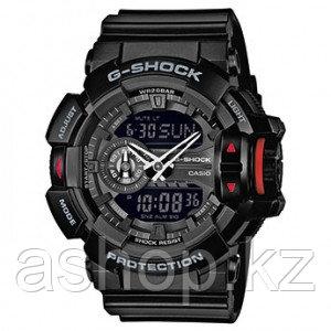 Часы электронные наручные мужские Casio G-SHOCK GA-400-1BER, Механизм: Кварц, Браслет: Ремешок из полимерного