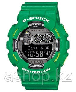 Часы электронные наручные мужские Casio G-SHOCK GD-120TS-3DR, Механизм: Кварц, Браслет: Ремешок из полимерного