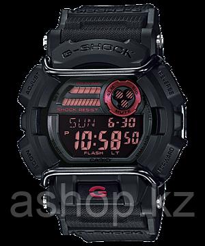Часы электронные наручные мужские Casio G-SHOCK GD-400-1ER, Механизм: Кварц, Браслет: Ремешок из полимерного м