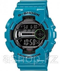 Часы электронные наручные мужские Casio G-SHOCK GD-110-2DR, Механизм: Кварц, Браслет: Ремешок из полимерного м