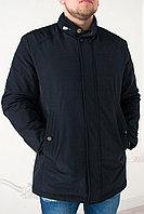 Куртка мужская демисезонная Vivacana синяя , большие размеры