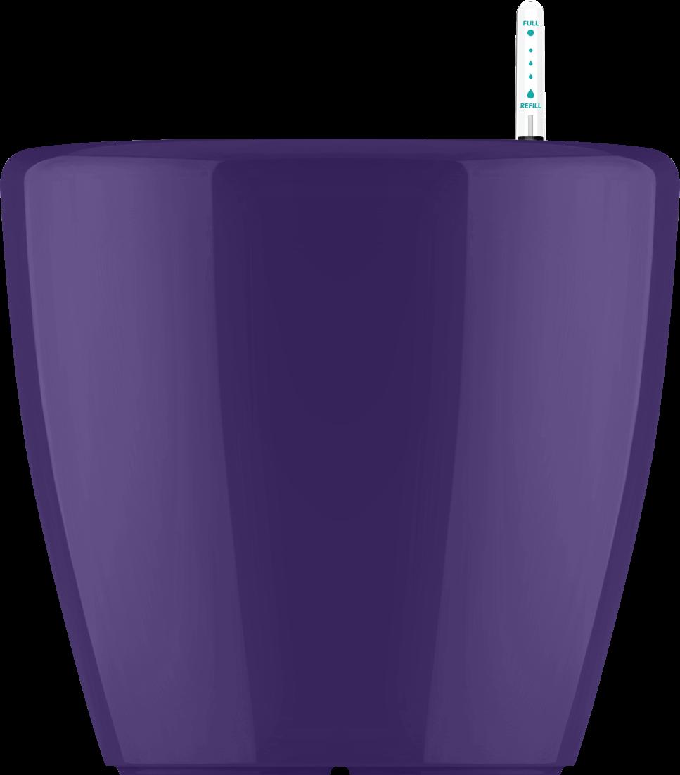 Фиолетовый кашпо с автополивом растений 43х40cmH