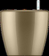 Кашпо с автополивом (43х40cmH), золото