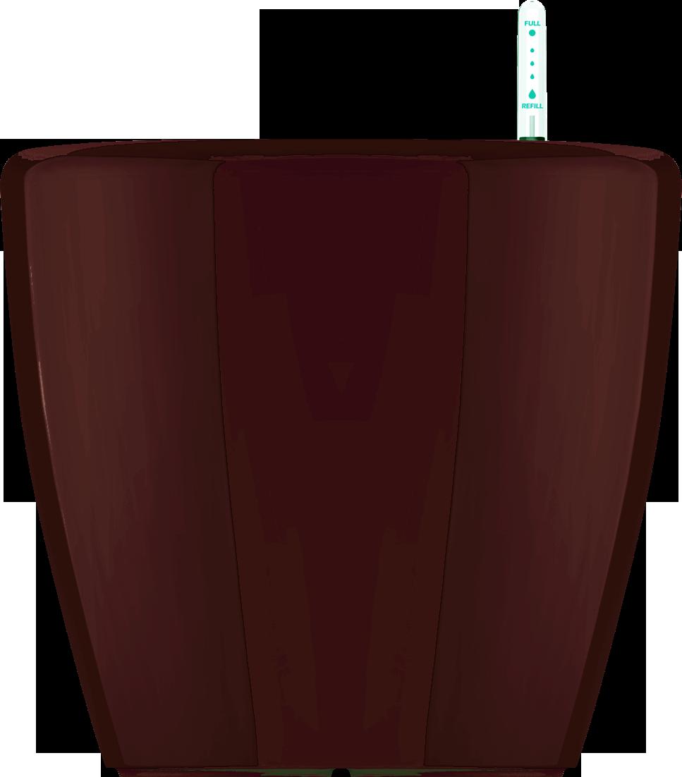 Кашпо коричневый с поливом 43х40cmH
