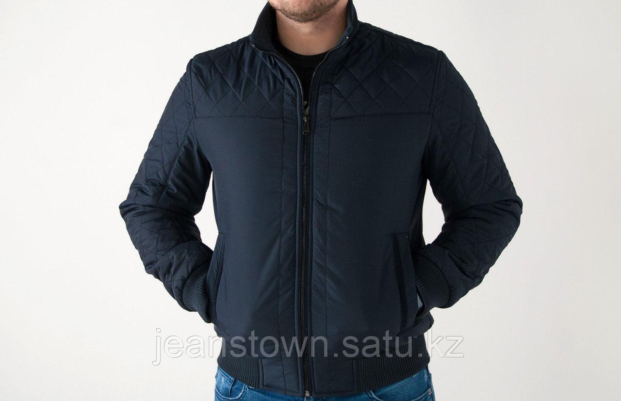 Куртка мужская демисезонная Leima короткая, синяя