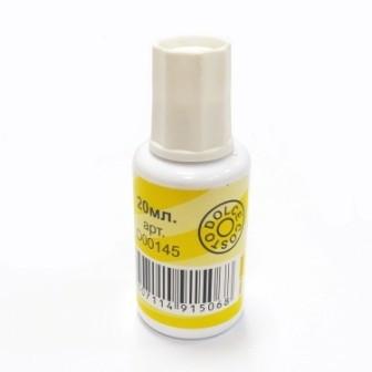 Корректирующая жидкость с кистью 20мл. D00145 (DOLCE COSTO)
