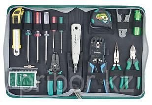 Набор инструментов для телекоммуникационных сетей Pro`sKit PK-4013