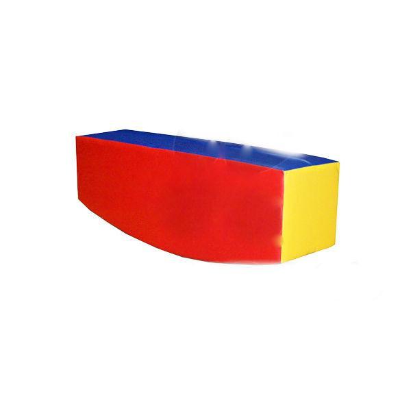 Мягкий модуль-тренажер «Балансир» (полукруглый брус)