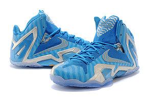 Баскетбольные кроссовки Nike Lebron 11 (XI) Elite Series синие