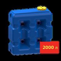 Емкость прямоугольная 2000 л