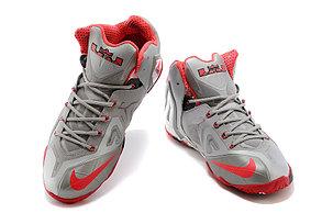Баскетбольные кроссовки Nike Lebron 11 (XI) Elite Low серые, фото 2