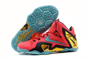 Баскетбольные кроссовки Nike Lebron 11 (XI) Elite Low красные
