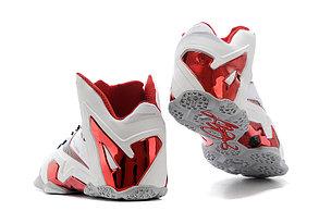 Баскетбольные кроссовки Nike Lebron 11 (XI) Elite Low белые, фото 2