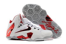 Баскетбольные кроссовки Nike Lebron 11 (XI) Elite Low белые
