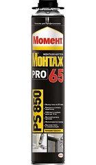 МОМЕНТ МОНТАЖ 65 PU PRO PS850 Профессиональная монтажная пена с увеличенным  выходом до 65л. (850мл.)