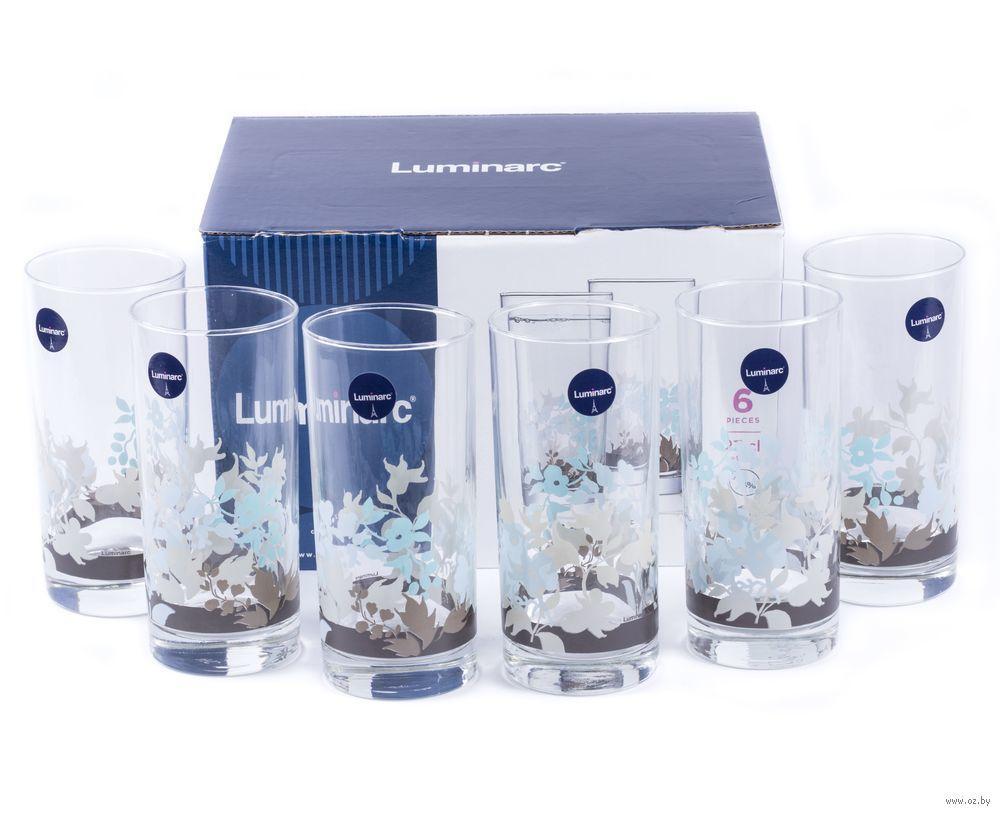 Набор стаканов Luminarc Foliage высокие 270 мл (6 шт.)