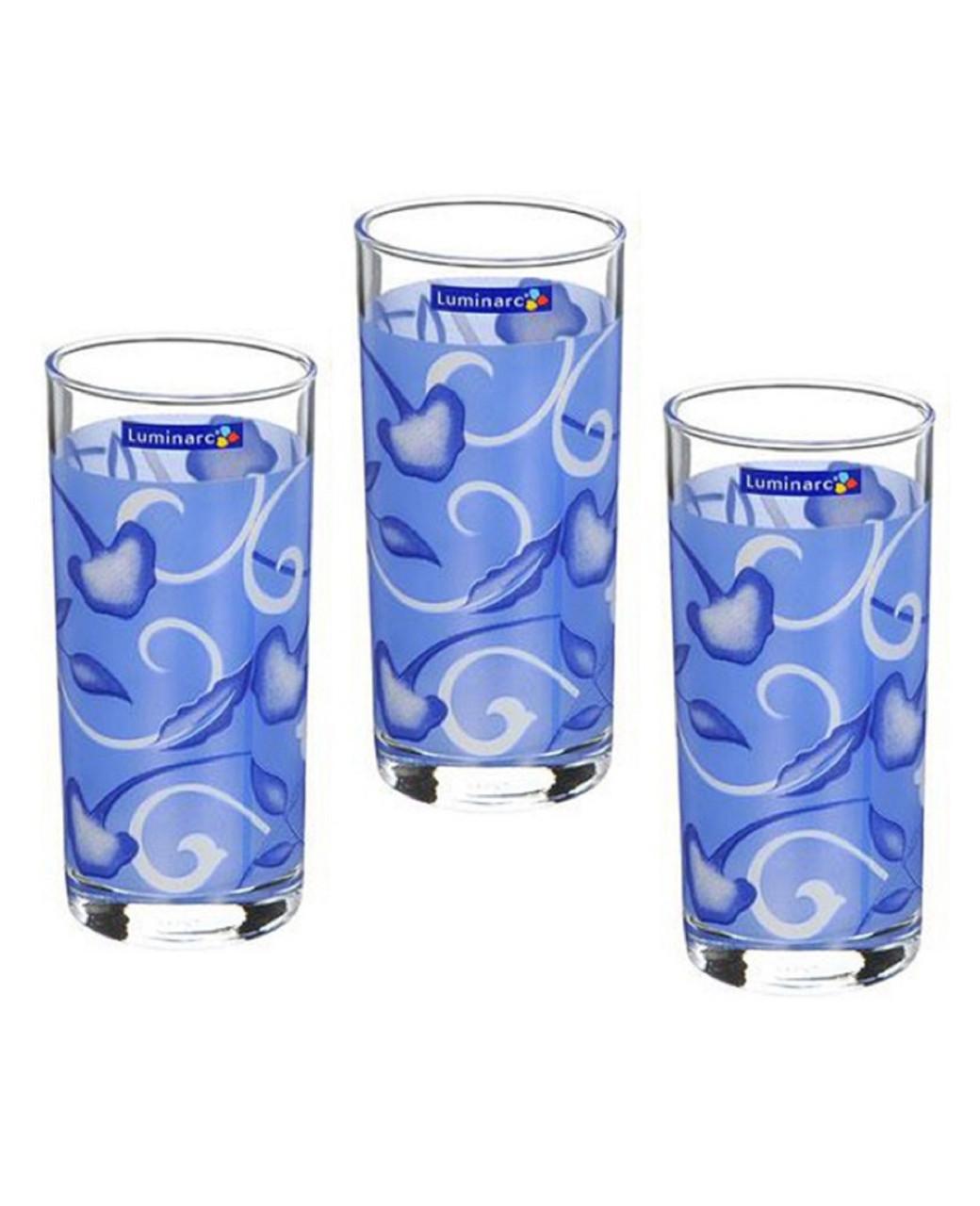 Набор стаканов Luminarc Plenitude Blue высокие 270 мл (6 шт.)