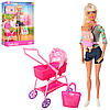 Defa Lucy Кукла Люси (29 см) с коляской, в наборе кукла-малыш, тематические аксессуары (в ассортименте)