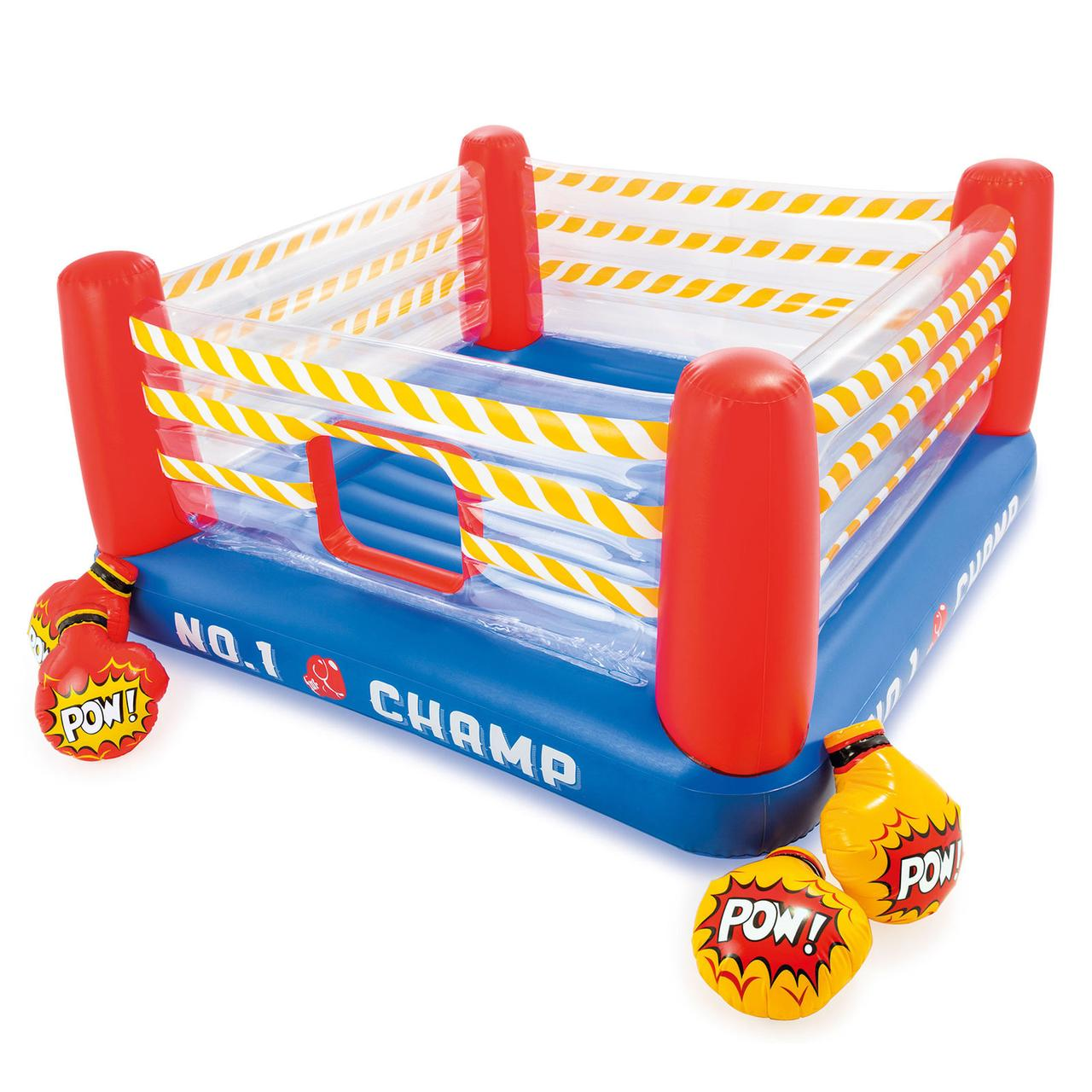 "Детский игровой центр ""Ринг"" Intex 48250 батут, 226х226х110 см (+Доставка)"