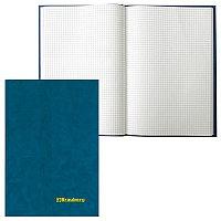 Книга учета А4 96л. в клетку, офсет, обложка бумвинил BRAUBERG # 130069
