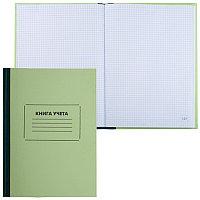 Книга учета А4 120л. STAFF в клетку, офсет, нумерация, твердая обложка # 130062